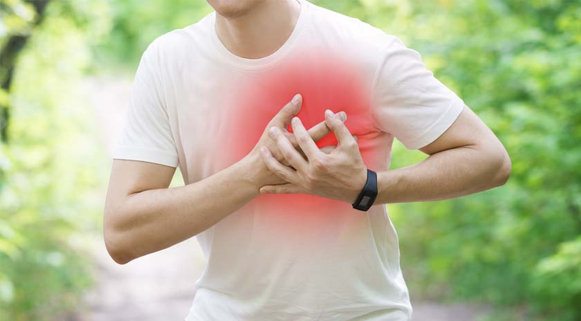 Sintomas enfarte