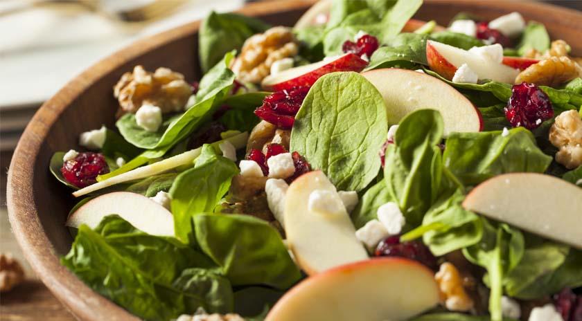 Salada de espinafres e doping